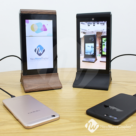 Table Top Power Bank Advertising Player