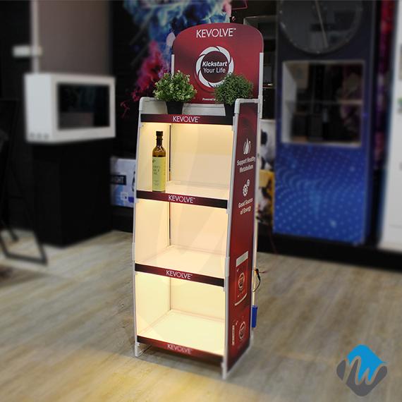 flexile rack with LED