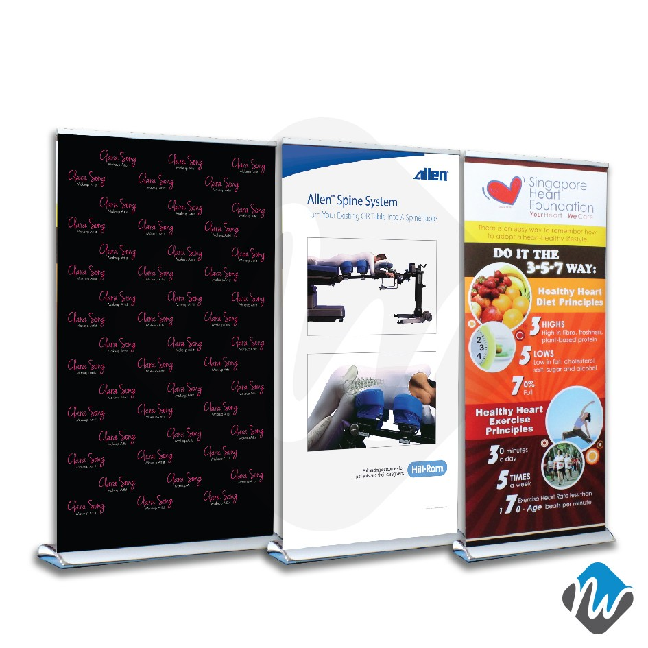 Cruise Roll Up Roll Up Banner Stands Portable Display