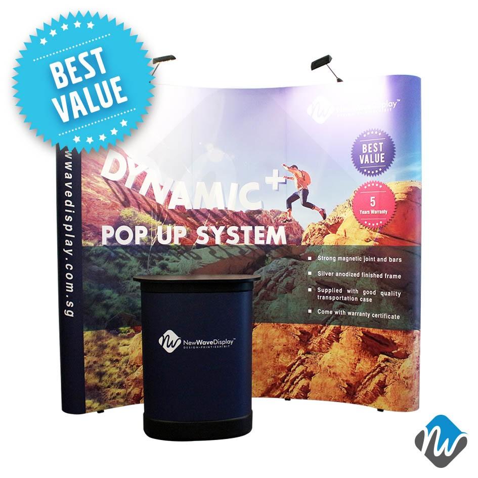 Dynamic Plus Pop Up (5 Years Warranty)