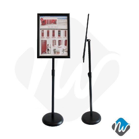 A40 Snap Frame Poster Stand Poster Stands RENTAL Product Awesome Poster Display Stands Rental