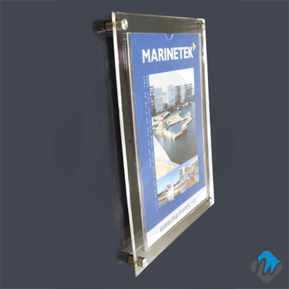 Acrylic Pocket Style Wall Frame