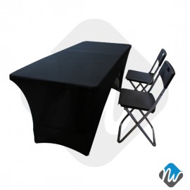 Tradeshow Table with Stretch Fabric