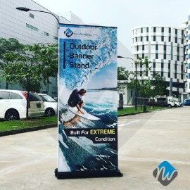 Extreme Outdoor Roll Up Banner