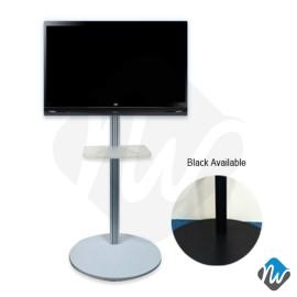 Slim Column TV Stand