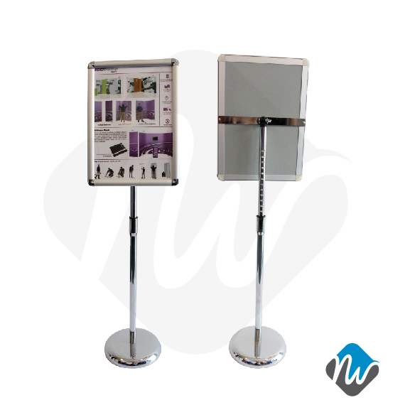 A40 Snap Frame Poster Stand Poster Stands RENTAL Product New Poster Display Stands Rental