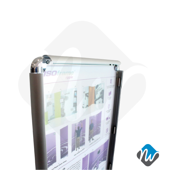 A40 Snap Frame Poster Stand Poster Stands RENTAL Product Gorgeous Poster Display Stands Rental