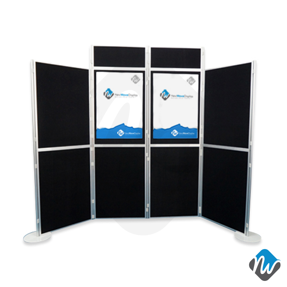 Clip And Pole Panel System